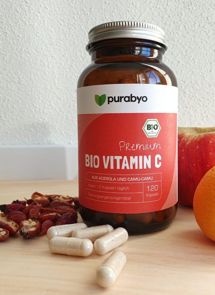 Das Bio Vitamin C von Purabyo