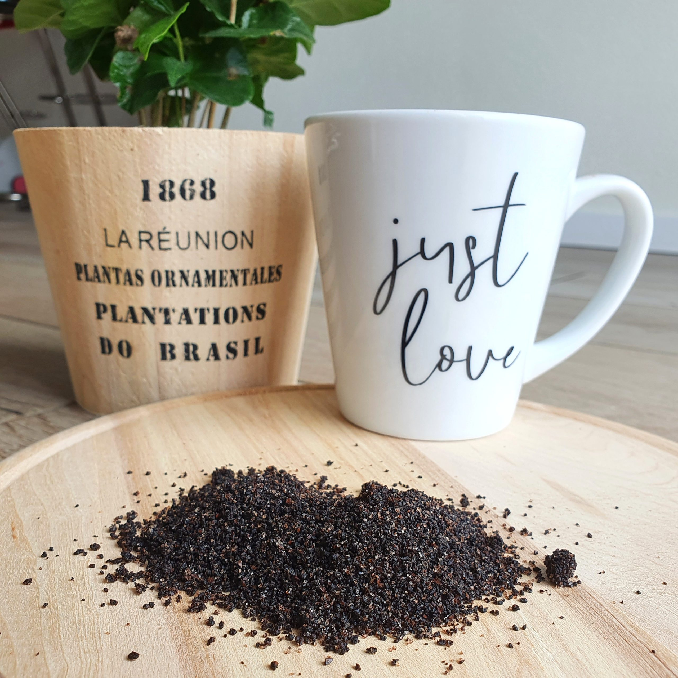 Kaffeepeeling für straffe und gepflegte Haut