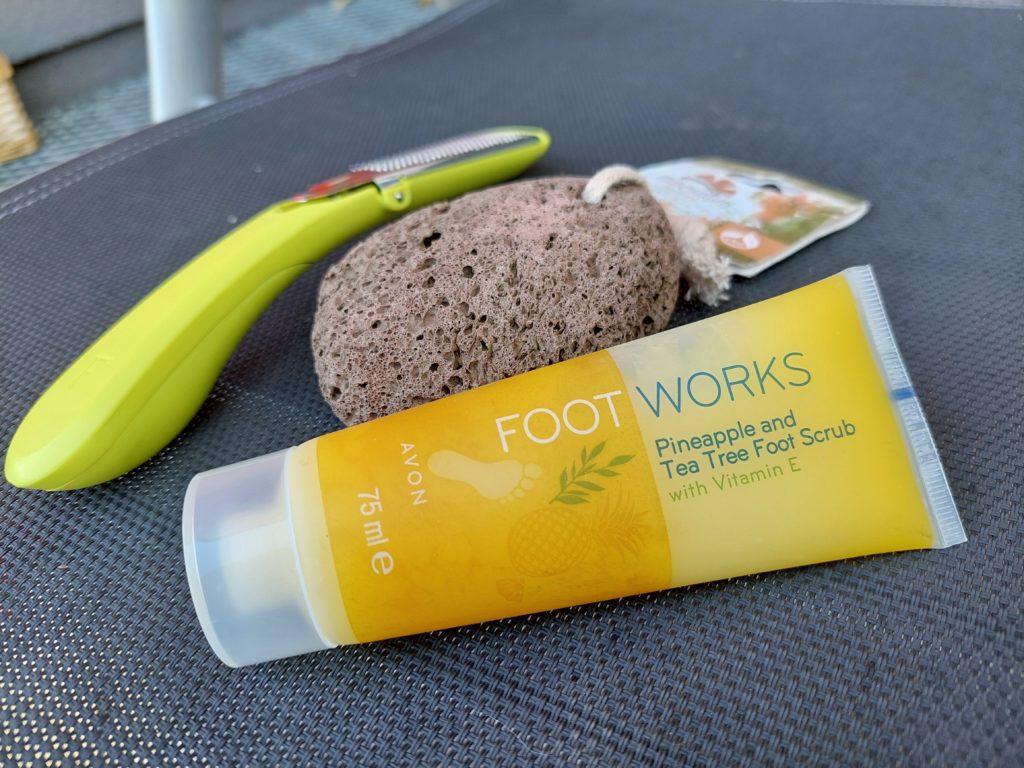 Hautpflegetools für zarte Füße